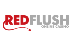 red flush logo
