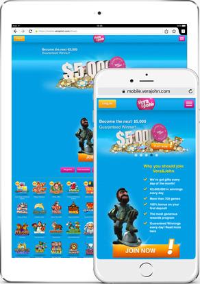 vera en john mobile casino online