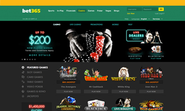 Bet 365 casino website