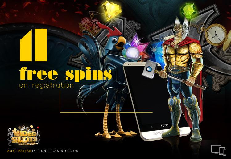 Free Spins Welcome Bonus
