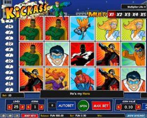 Kickass Pokie Game