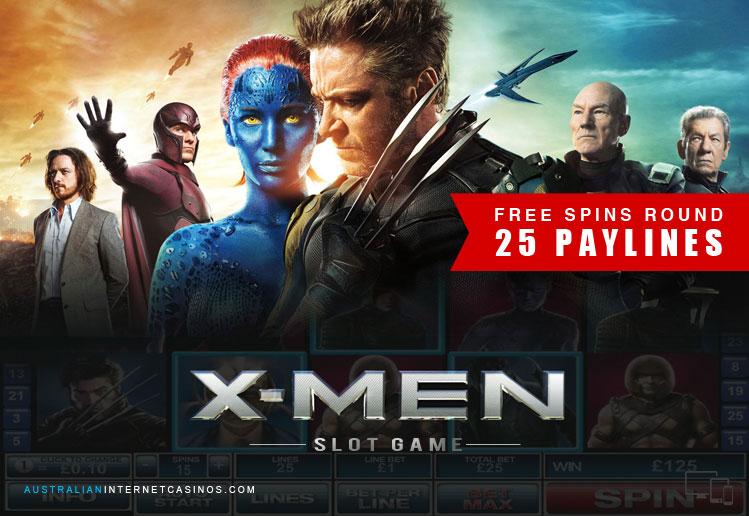 X Men Marvel Slot Game