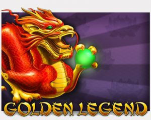 Golden Legend Pokie Game