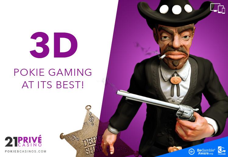 21 prive 3D slot gaming