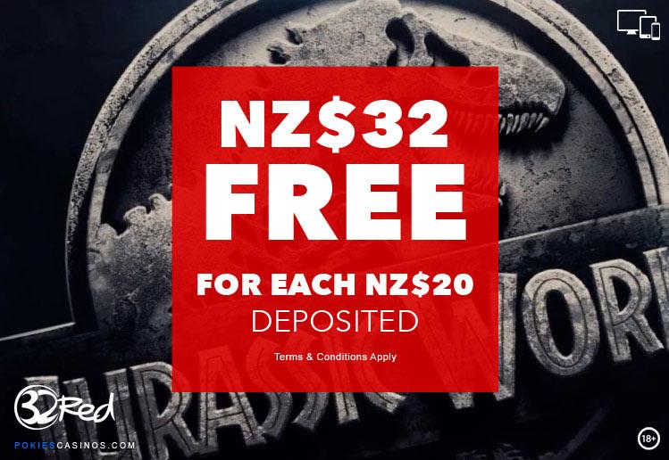 32Red-Casino-NZ$32-Bonus