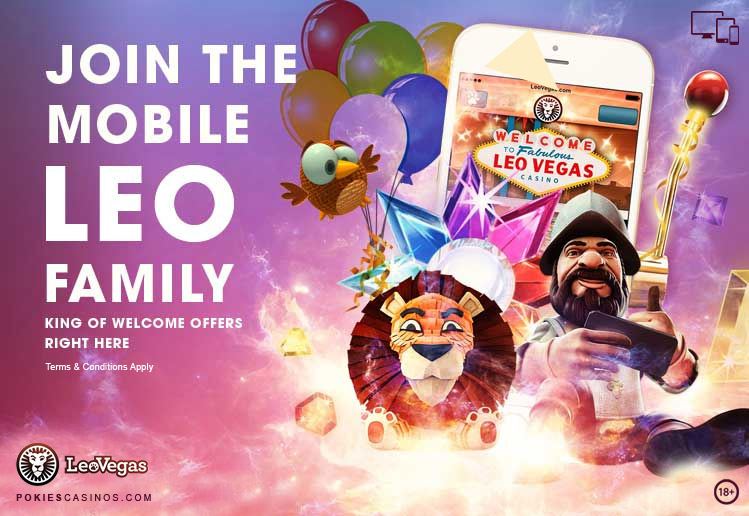 Leo Vegas Popular Casino Bonus