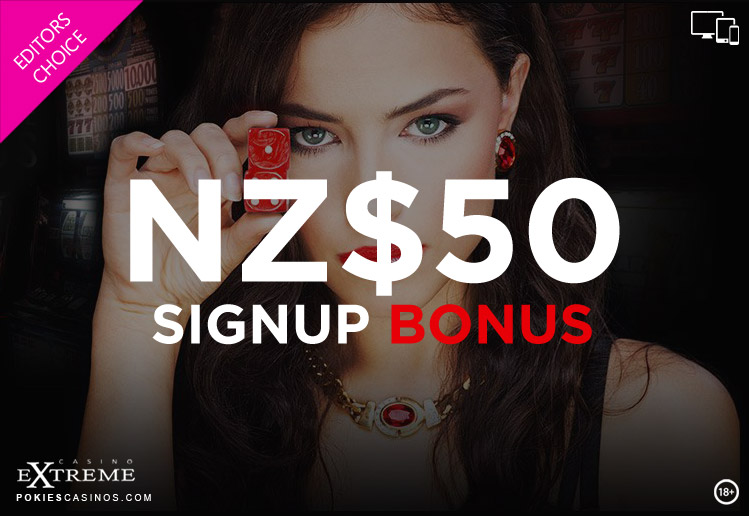 Casino Extreme NZ$50 Signup Bonus