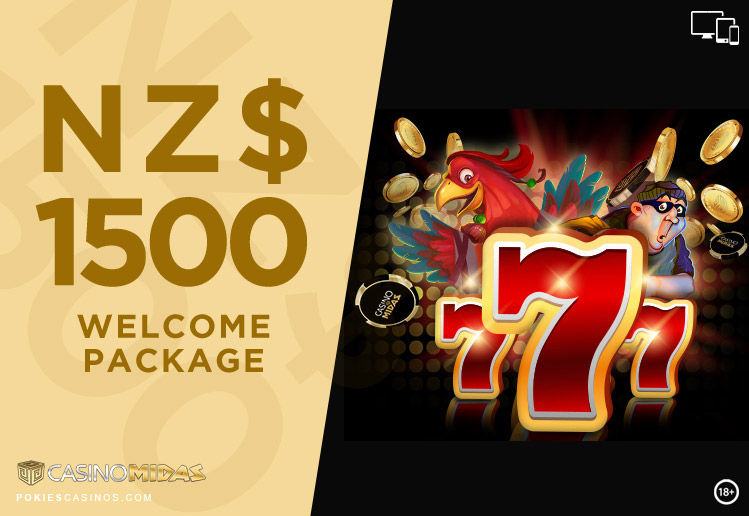 Casino Midas Online Casino $1500 Welcome Package
