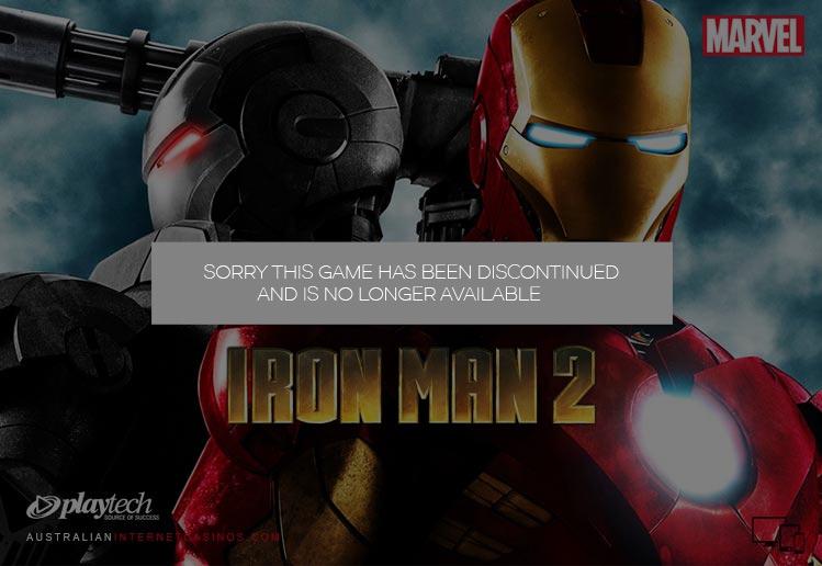 Iron Man 2 Pokie Game