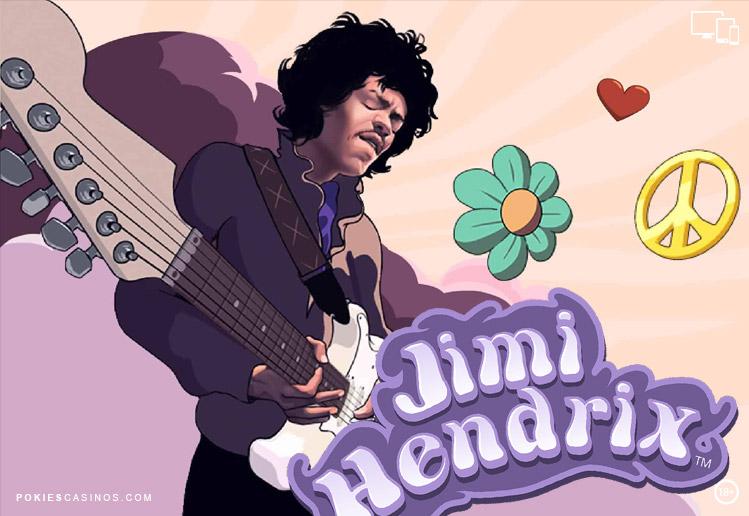 NetEnt Mega Win Pokie Jimi Hendrix