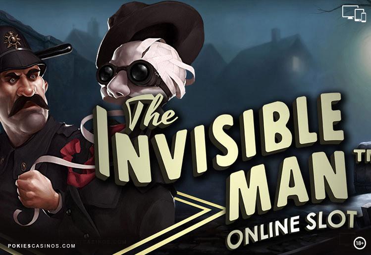 NetEntertainment The Invisible Man Pokie