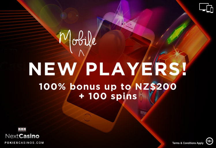 Next Casino Mobile Bonus For New Players