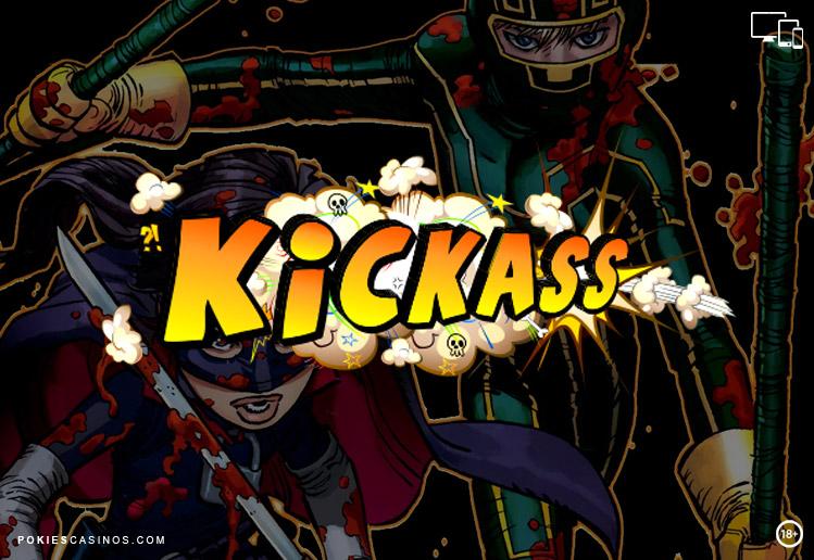 Superheroes Pokie Kickass By 1x2 Gaming