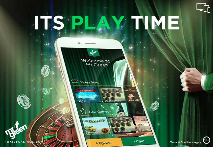 Welcome To Mr Green Smart Phone Casino