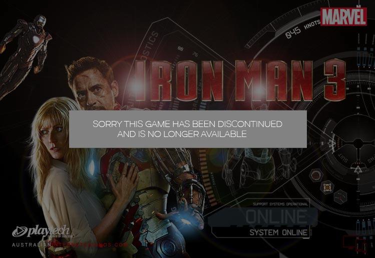 Iron Man 3 Pokie Game
