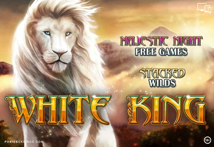 Playtech Pokie White King