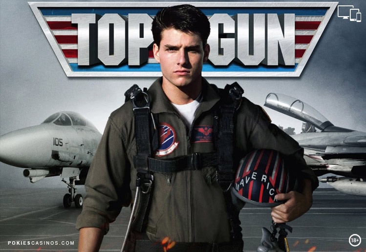 Top Gun Action Pokie By Playtech
