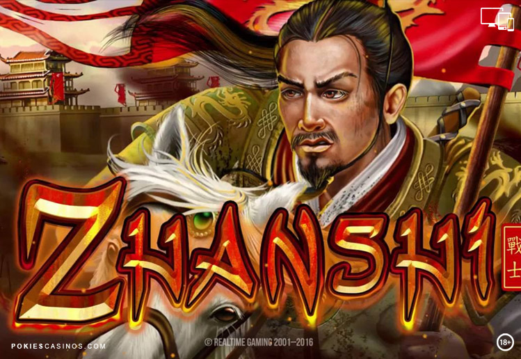 Zhanshi Pokie By real Time Gaming Software