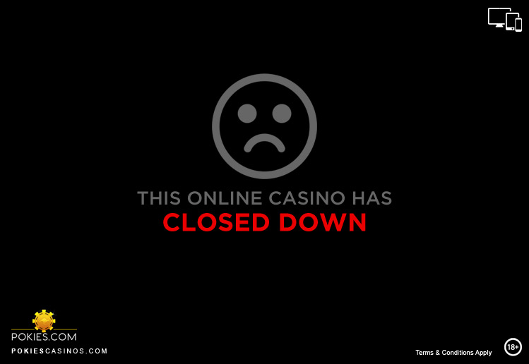 Closed Down Online Casinos