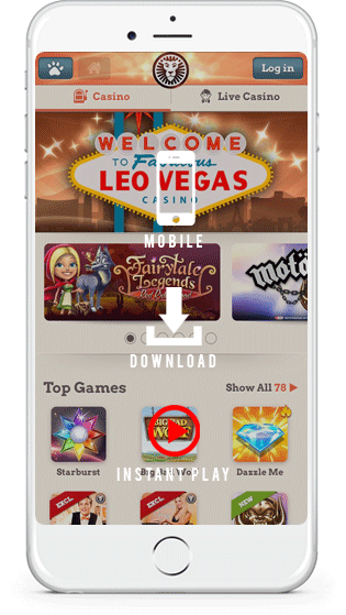 Leo Vegas casino mobile play