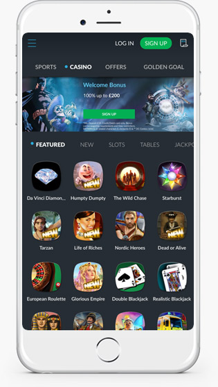 Bet Victor casino mobile play