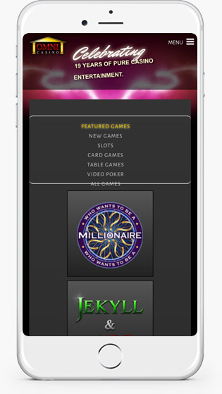 Omni Casino mobile play