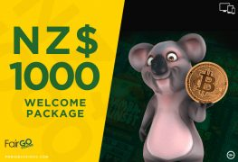 Fair Go Internet Casino NZ$1000 Welcome Package Bonus