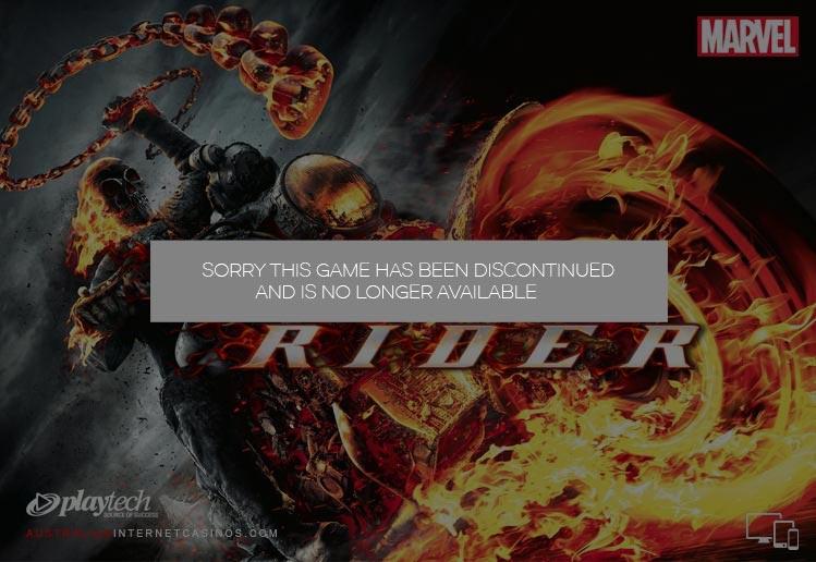 Ghost Rider Pokie Game