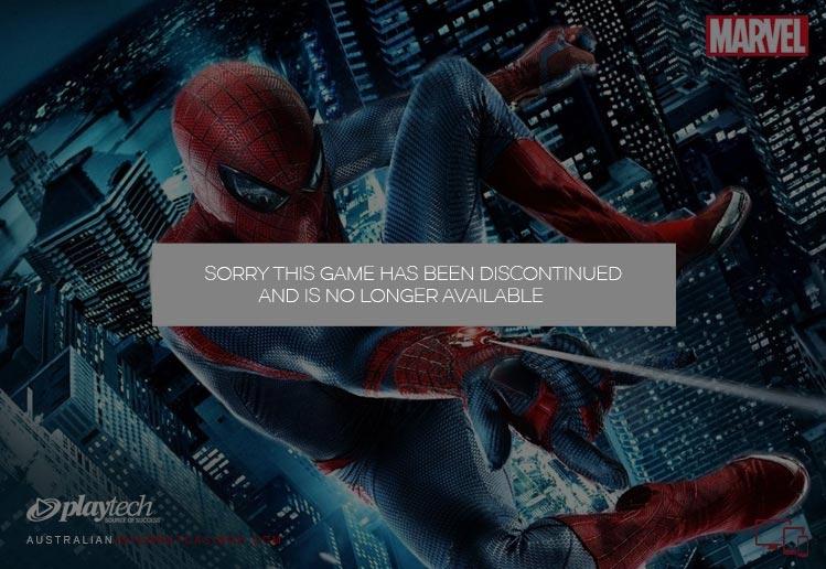 Spiderman Pokie Game
