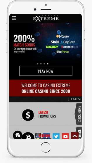 Casino Extreme casino mobile play