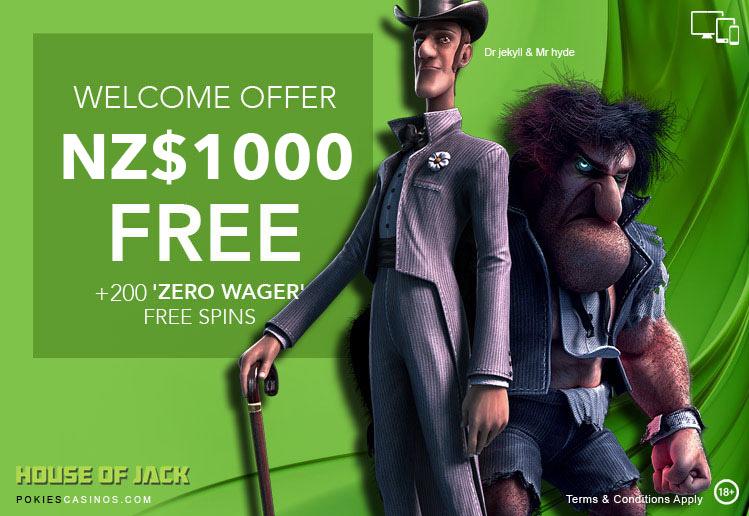 Trending Bonus Offer House Of Jack Casino