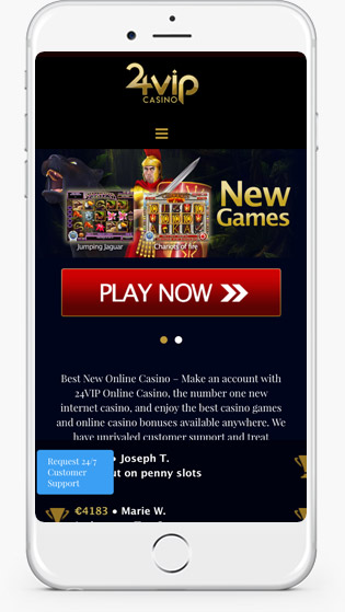 24VIP Casino mobile play