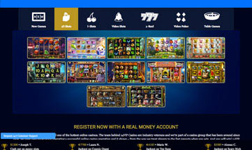 24VIP Casino website
