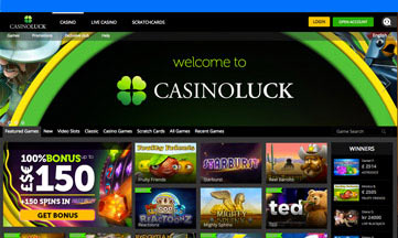 Casino Luck website