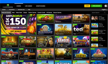 Casino Luck jackpot games