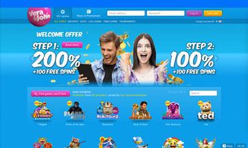 vera & john website