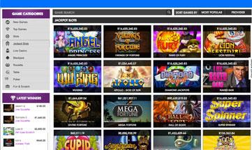 21 Prive Casino jackpot games