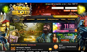 Video Slots website