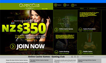 gaming club website