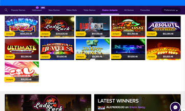 Wild Jackpots jackpot games