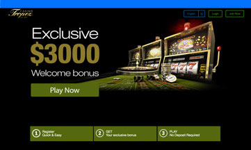 Casino Tropez website