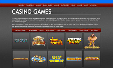 fly casino jackpot games
