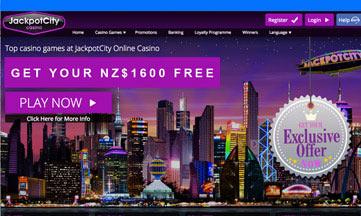 Jackpot City website