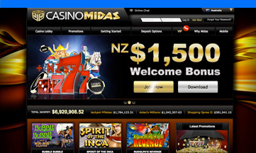 Casino Midas casino website