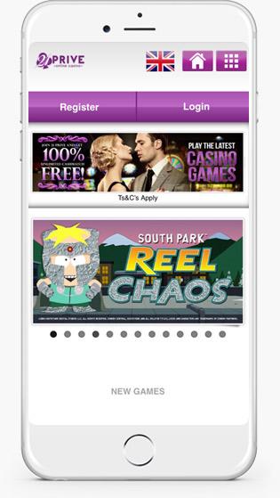 21 Prive Casino mobile play