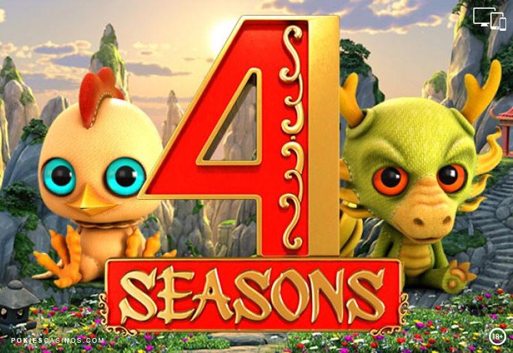 4 Seasons Betsoft pokie 30 paylines