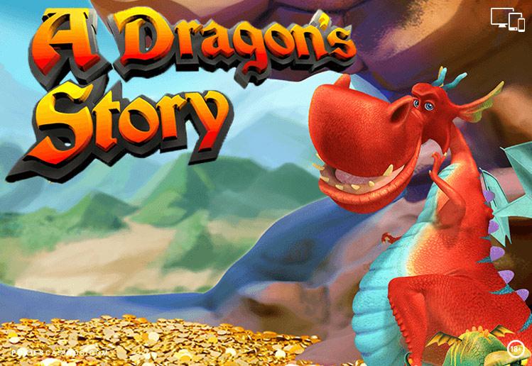 A Dragons Story 25 payline pokie