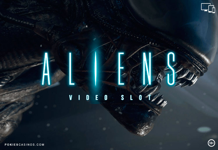 Aliens Sci Fi Video pokie