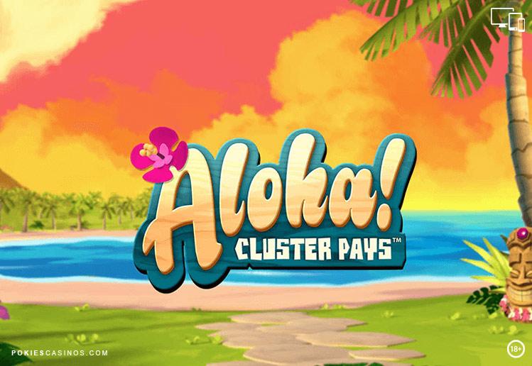 Aloha Cluster Pays Slot - NetEnt Casino - Rizk Deutschland