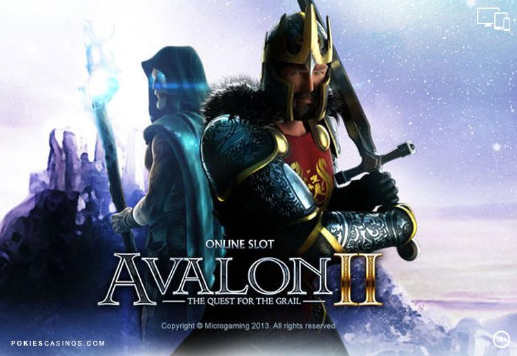 Avalon 2 3D Pokie